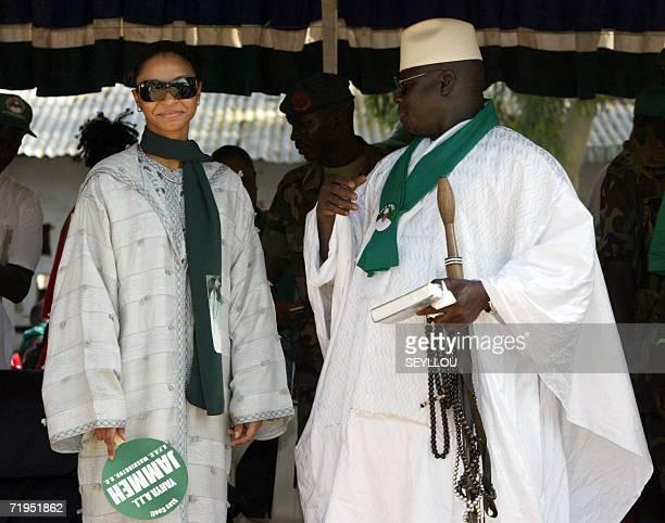 Zineb Yahya Jammeh Yahya Jammeh Stock Pho...