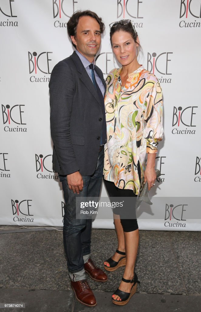 Serena Altschul and guest attend Bice Cucina Restaurant Opening on June 13, 2018 in New York City.