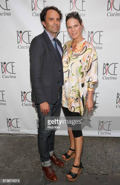 Serena Altschul and guest attend Bice Cucina Restaurant Opening on June 13 2018 in New York City