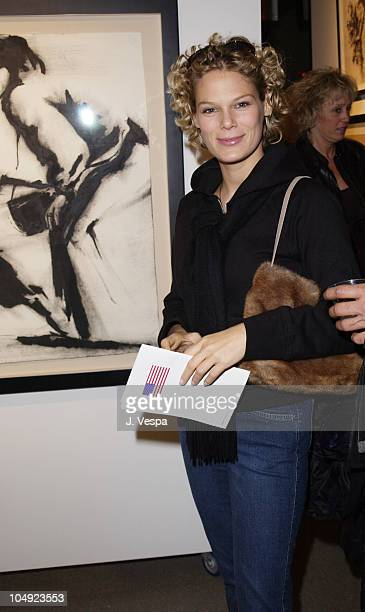 Serena Altschul during Greg Lauren Art Show Opening at Stricoff Fine Art Gallery in New York City New York United States