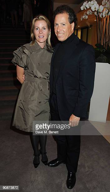 Serena and David Linley at the 'Liver Good Life' Charity Party at Christies on September 16 2009 in London England
