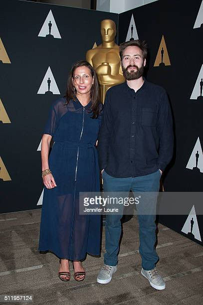 Serena Armitage and Benjamin Cleary arrive at the 88th Annual Academy Awards Oscar Week Celebrates Shorts at the AMPAS Samuel Goldwyn Theater on...