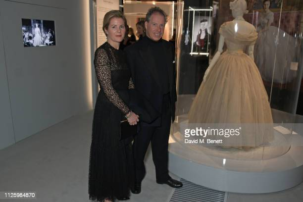 Serena ArmstrongJones Countess of Snowdon and David ArmstrongJones 2nd Earl of Snowdon attend a gala dinner celebrating the opening of the Christian...