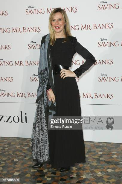 Serena Autieri attends the 'Saving Mr Banks' premiere at The Space Moderno on February 6 2014 in Rome Italy