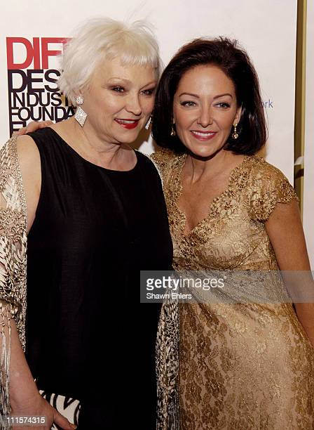 Serena Bass and Margaret Russell during The 8th Annual Elle Decor Dining by Design Benefiting the Design Industries Foundation Fighting AIDS at...