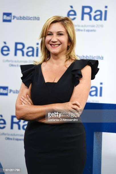 Serena Bortone attends the Rai Show Schedule presentation on July 09 2019 in Milan Italy