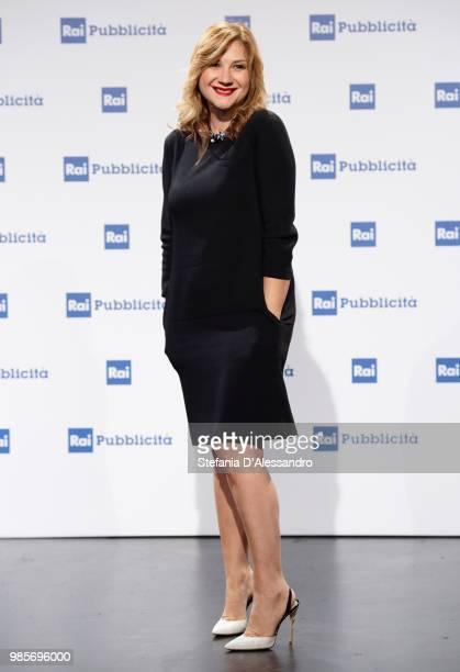 Serena Bortone attends the Rai Show Schedule presentation on June 27 2018 in Milan Italy