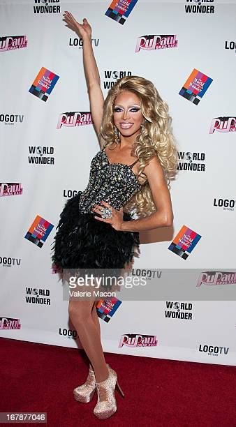 Serena Cha Cha attends the Finale Reunion Coronation Taping Of Logo TV's RuPaul's Drag Race Season 5 on May 1 2013 in North Hollywood California