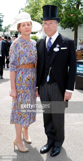Serena Countess of Snowdon and David Earl of Snowdon attend day 1 of Royal Ascot at Ascot Racecourse on June 20 2017 in Ascot England