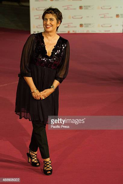 Serena Dandini on the pink carpet Final evening of Romafictionfest 2014 The 8th edition of the annual festival was held at Auditorium Parco Della...