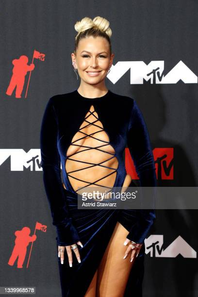 Serena Kerrigan attends the 2021 MTV Video Music Awards at Barclays Center on September 12, 2021 in the Brooklyn borough of New York City.