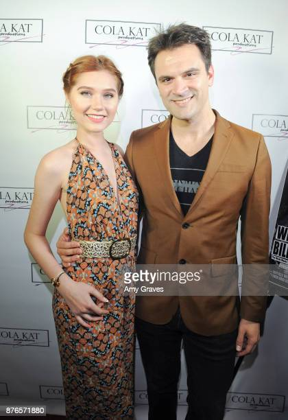 Serena Laurel and Kash Hovey attend the 'Who Is Billy Bones' TV Premiere Event on November 19 2017 in Beverly Hills California