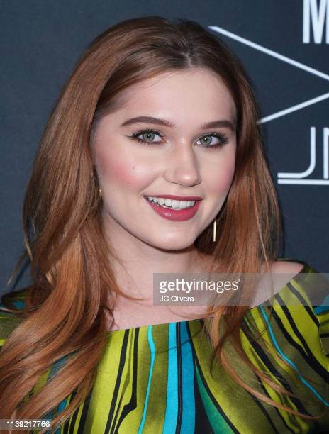 Serena Laurel attends Matt Sarafa and Jonathan Marc Stein's new 'Rich' clothing line release and fashion show on March 29 2019 in Los Angeles...