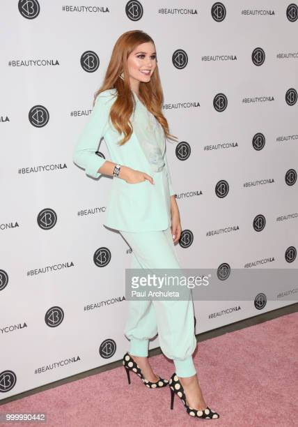 Serena Laurel attends the Beautycon Festival LA 2018 at Los Angeles Convention Center on July 15 2018 in Los Angeles California