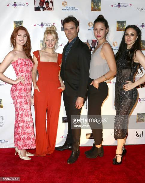 Serena Laurel Chloe Farnworth Kash Hovey Kenall Chappell and Rachele Royale at the 4th Annual CC Teen Hollywood Film Festival at Raleigh Studios on...