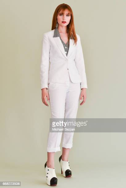 Serena Laurel poses for portrait at The Artists Project on April 12 2017 in Los Angeles California