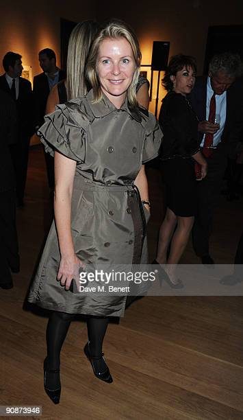 Serena Linley at the 'Liver Good Life' Charity Party at Christies on September 16 2009 in London England