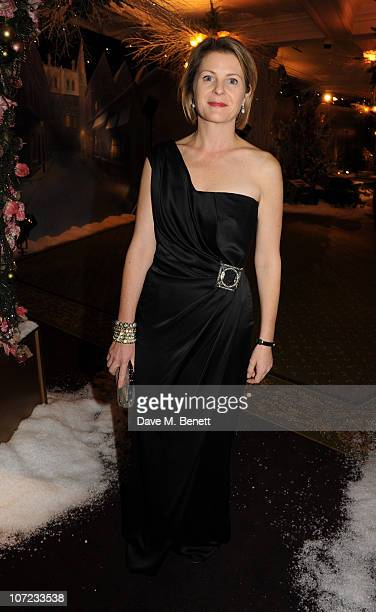 Serena Linley attends The Dickensian Ball at Harrods on December 1 2010 in London England