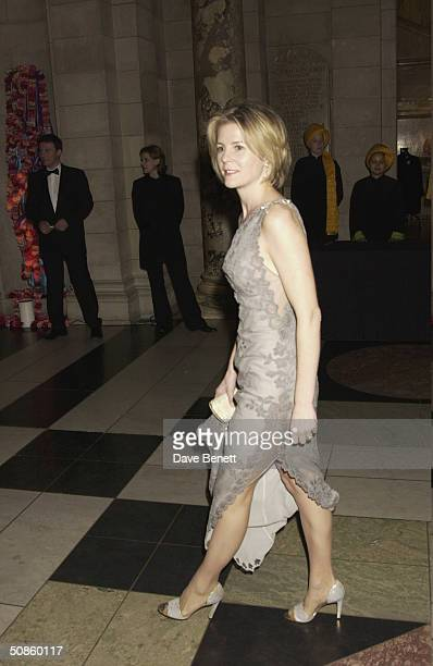 Serena Linley attends the NSPCC Charity Gala Evening at The Victoria and Albert Museum followed by a party at The Roof Gardens in Kensington in aid...