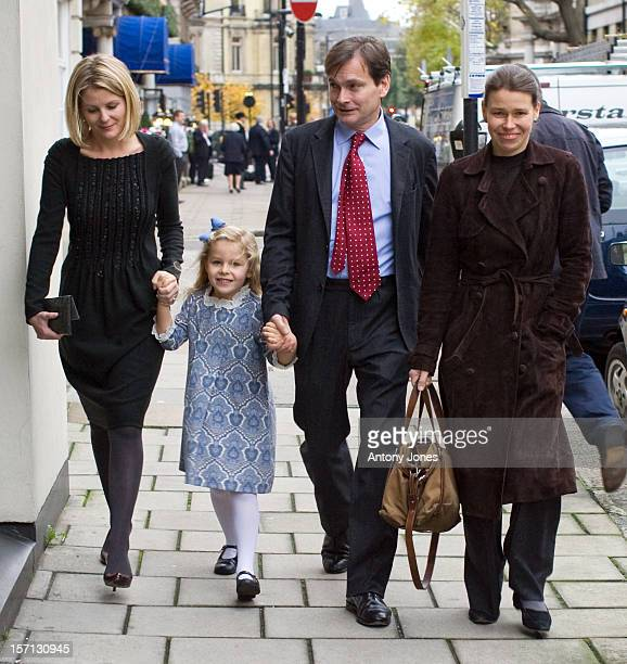 Serena Linley Her Daughter Daniel Chatto And Lady Sarah Chatto Attend The Prince Of Wales' 60Th Birthday Brunch Reception At Goring Hotel In London...