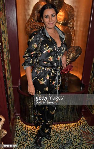 Serena Rees attends the 'Country Town House Great British Brands' party at Annabel's on January 27 2020 in London England