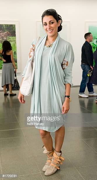 Serena Rees attends the Richard Prince 'Continuation' Private View at the Serpentine Gallery on June 25 2008 in London England
