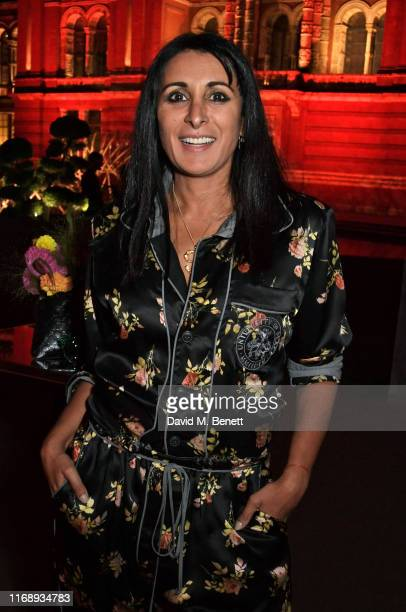 Serena Rees attends the Tim Walker: Wonderful Things exhibition launch at The V&A in partnership with British Fashion Council, on September 17, 2019...