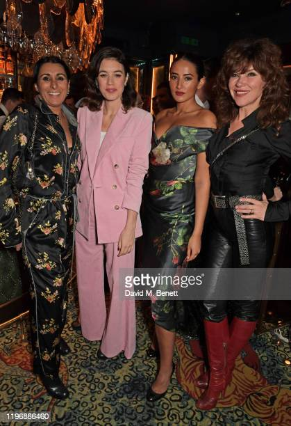 Serena Rees Gala Gordon Cora Corre and Jess Morris attend the 'Country Town House Great British Brands' party at Annabel's on January 27 2020 in...