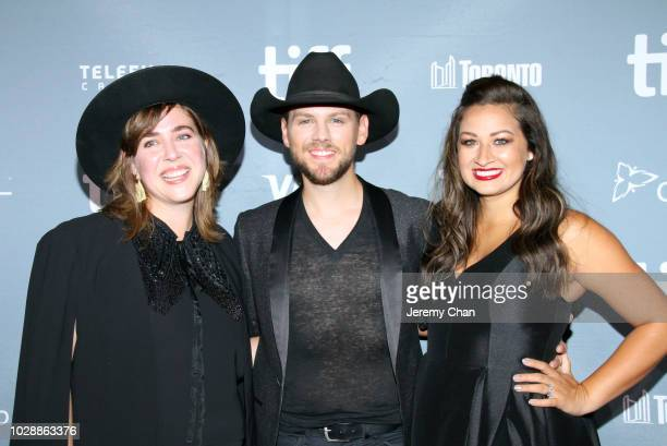 Serena Ryder Brett Kissel and Cecilia Kissel attend the 2018 TIFF Tribute Gala honoring Piers Handling and celebrating women in film at Fairmont...