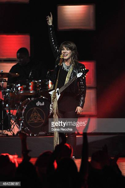 Serena Ryder performs at Much Presents The Big Jingle on December 7 2013 in Toronto Canada