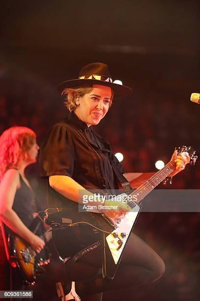 Serena Ryder performs during WE Day Minnesota at Xcel Energy Center on September 20 2016 in St Paul Minnesota