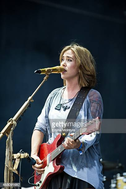 Serena Ryder performs on day two of the Osheaga music festival on August 2 2014 in Montreal Canada