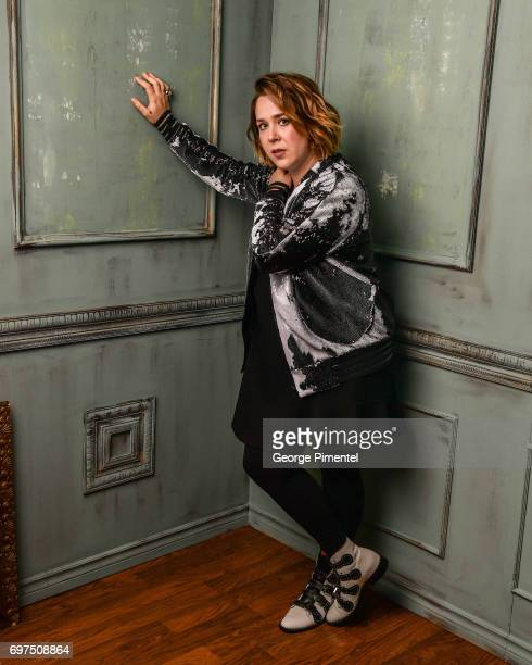 Serena Ryder poses for a portrait at the 2017 iHeartRADIO MuchMusic Video Awards at MuchMusic HQ on June 18 2017 in Toronto Canada