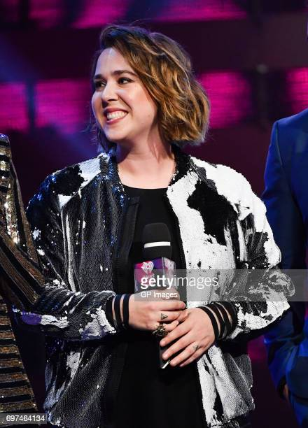 Serena Ryder presents at the 2017 iHeartRADIO MuchMusic Video Awards at MuchMusic HQ on June 18 2017 in Toronto Canada
