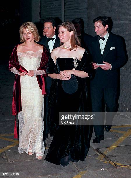 KINGDOM NOVEMBER 1 Serena Viscountess Linley and David Viscount Linley and Lady Sarah Chatto and Husband Daniel attend a Gala Concert at The Royal...
