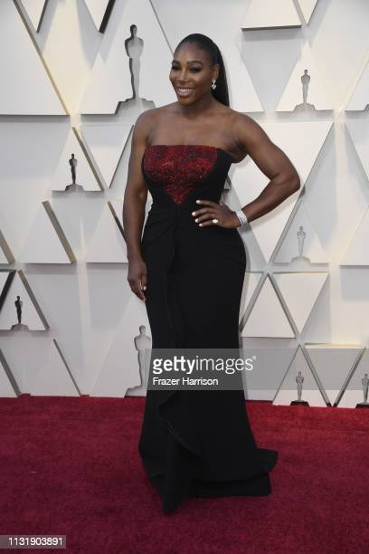Serena William attends the 91st Annual Academy Awards at Hollywood and Highland on February 24 2019 in Hollywood California