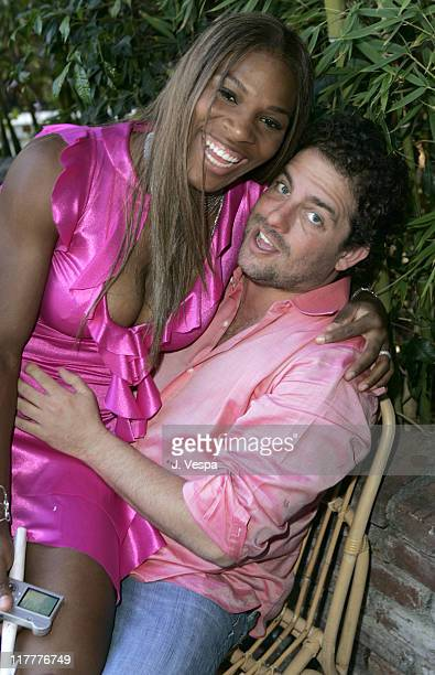 Serena Williams and Brett Ratner during Corzo Tequila Hosts Serena Williams Birthday Party at Private Residence in Los Angeles, California, United...