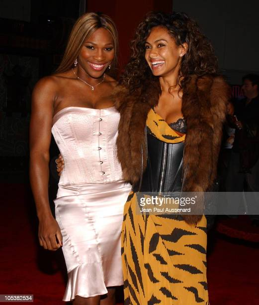 Serena Williams and Shakara Ledard during 'After the Sunset' Los Angeles Premiere Arrivals at Grauman's Chinese Theater in Hollywood California...