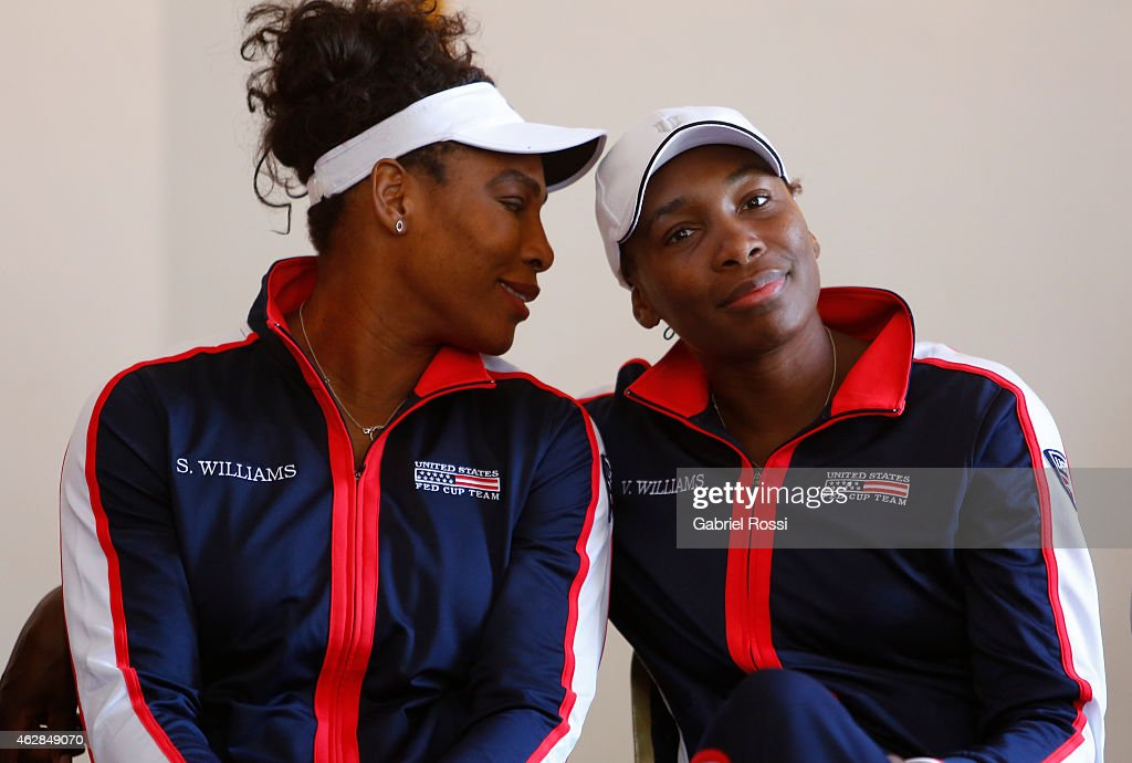 Argentina v USA - Fed Cup 2015 Draw : News Photo