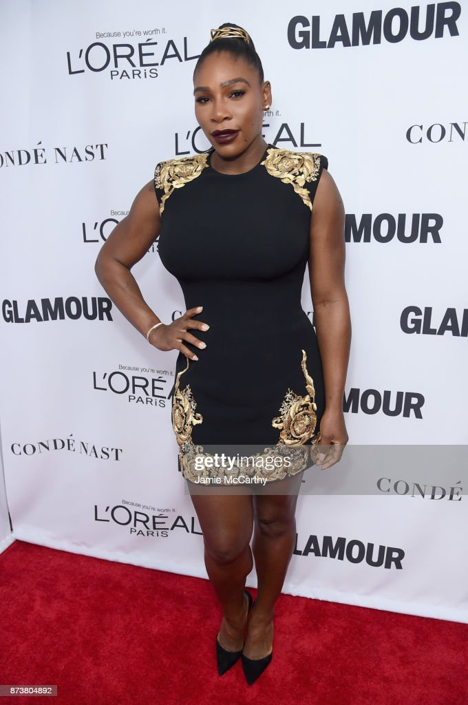 Serena Williams attends Glamour's 2017 Women of The Year Awards at Kings Theatre on November 13, 2017 in Brooklyn, New York.