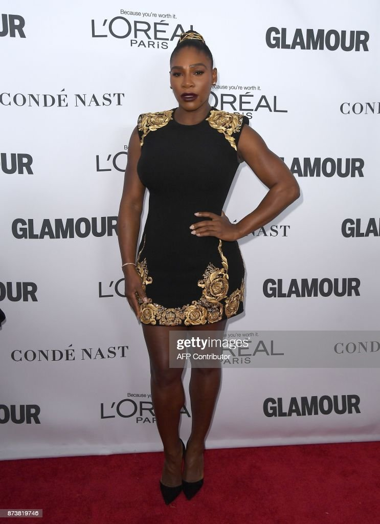 Serena Williams attends Glamour's 2017 Women of The Year Awards at Kings Theatre on November 13, 2017 in Brooklyn, New York. /
