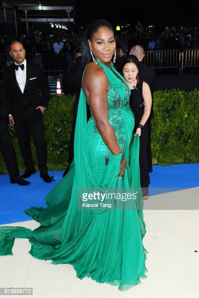 Serena Williams attends 'Rei Kawakubo/Comme des Garcons Art Of The InBetween' Costume Institute Gala at Metropolitan Museum of Art on May 1 2017 in...