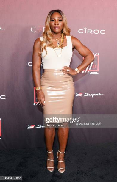 Serena Williams attends Sports Illustrated Fashionable 50 at The Sunset Room on July 18 2019 in Los Angeles California