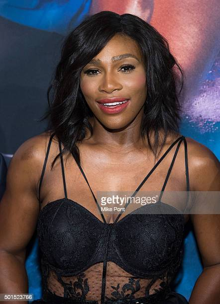 Serena Williams attends the 2015 Sports Illustrated Sportsperson Of The Year Ceremony at Pier Sixty at Chelsea Piers on December 15 2015 in New York...