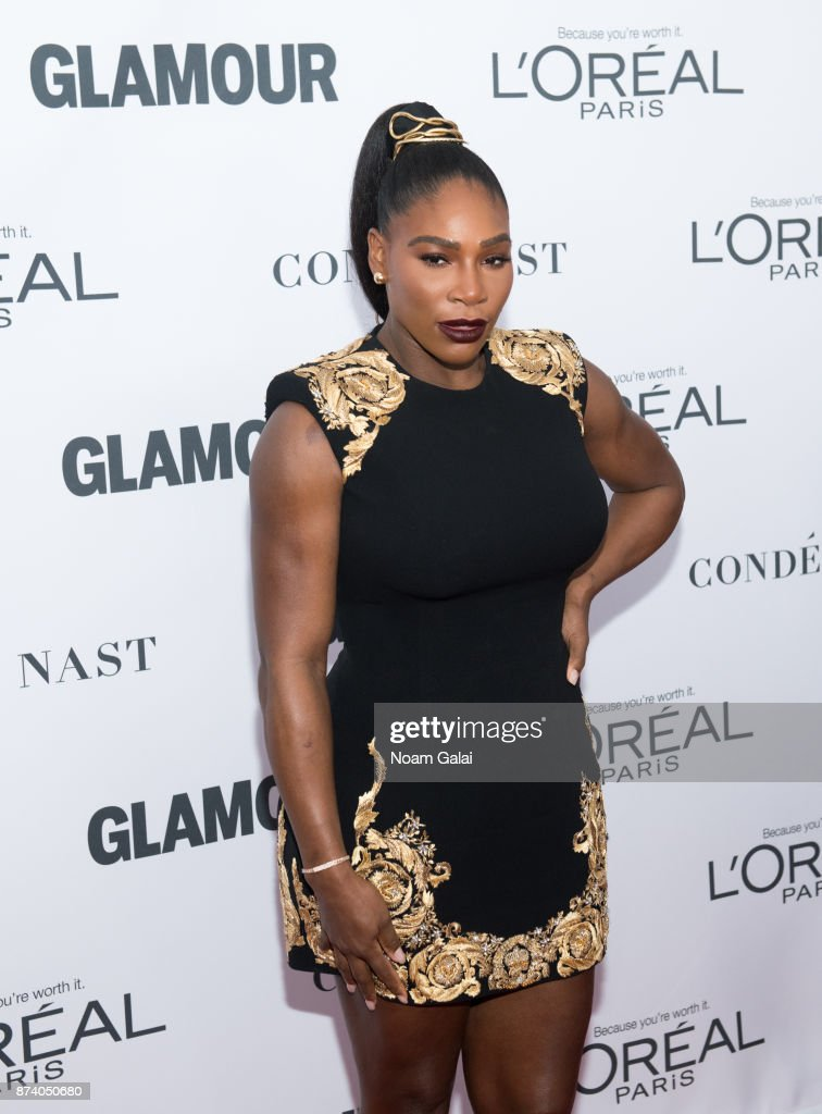 Serena Williams attends the 2017 Glamour Women of The Year Awards at Kings Theatre on November 13, 2017 in New York City.