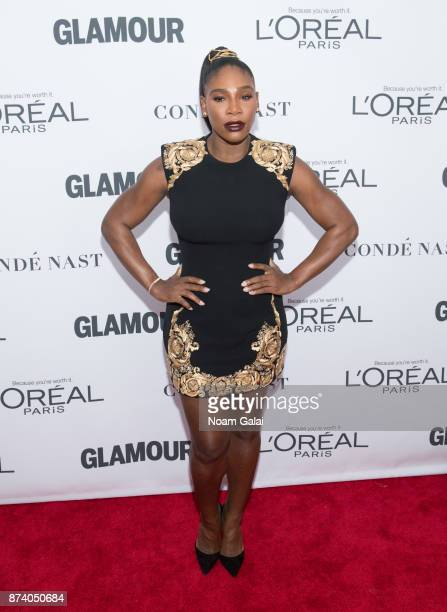 Serena Williams attends the 2017 Glamour Women of The Year Awards at Kings Theatre on November 13 2017 in New York City