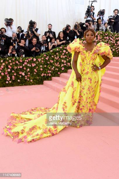 Serena Williams attends The 2019 Met Gala Celebrating Camp Notes on Fashion at Metropolitan Museum of Art on May 06 2019 in New York City