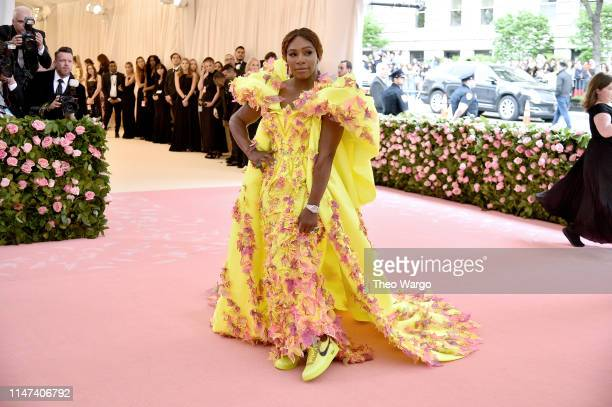 Serena Williams attends The 2019 Met Gala Celebrating Camp: Notes on Fashion at Metropolitan Museum of Art on May 06, 2019 in New York City.