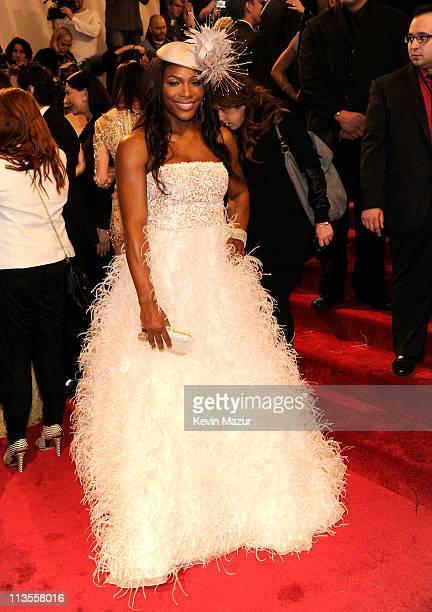 Serena Williams attends the 'Alexander McQueen Savage Beauty' Costume Institute Gala at The Metropolitan Museum of Art on May 2 2011 in New York City