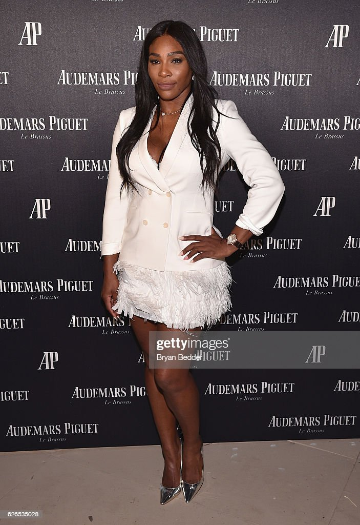 Serena Williams attends the Audemars Piguet Art Commission Presents 'Reconstruction of the Universe' By Sun Xun on November 29, 2016 in Miami Beach, Florida.